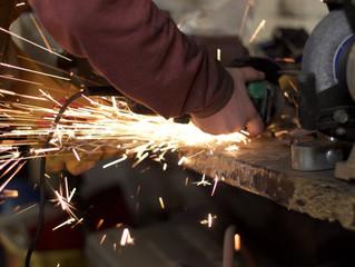 Setor Industrial em manutenção