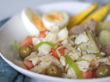 Serenata de Bacalao (Puerto Rican Codfish Salad)
