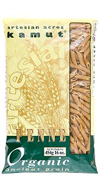 Pasta Penne - Organic Kamut - Artesian Acres
