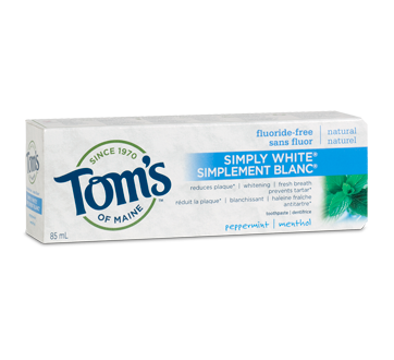 Tooth Paste - Natural - Fluoride Free - Tom's of Maine