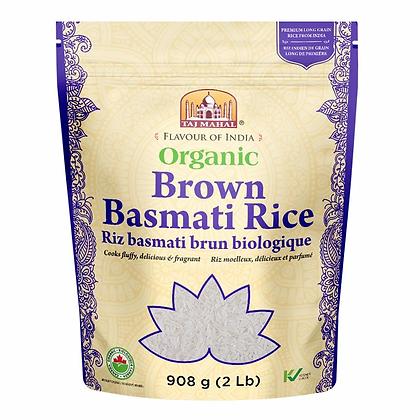 Rice - Organic - Brown - Basmati