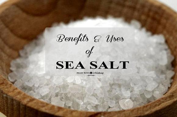 Sea Salt ( No Additives) - Zio's Natural