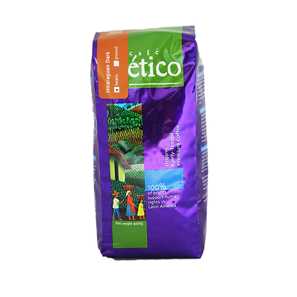 Coffee Organic - Nicaraguan Dark Whole beans - Cafe Etico