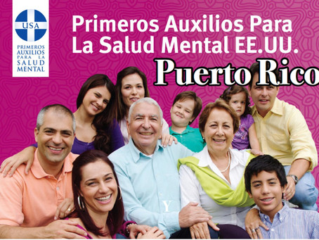 HKCviajaa Puerto Ricopara facilitarAdiestramiento de Primeros Auxilios Para la Salud Mental.