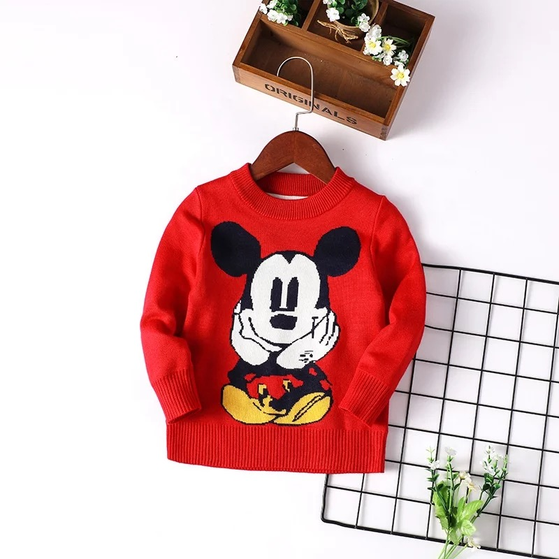 Red Mouse Sweater