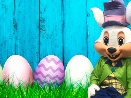Let us Egg your Yard! Easter Bunny 2021