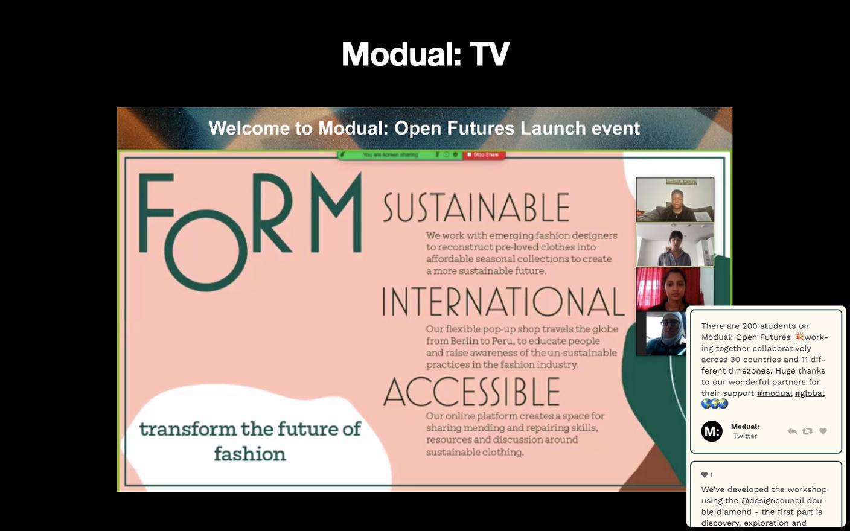 Modual TV - Launch Event presentations