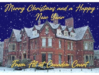 Merry Christmas and a Happy New Year From Everyone at Coundon Court!