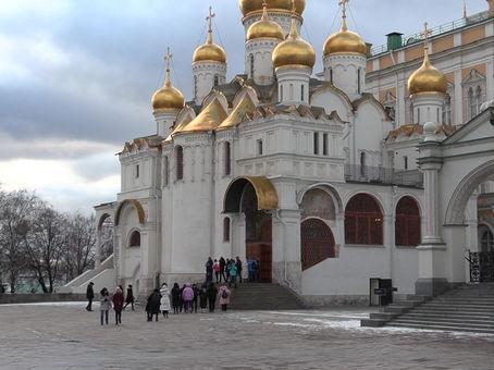 Kunstgeschiedenis cursus, cursus online, Peter de Grote in het Kremlin in Moskou