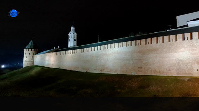 Historisch Novgorod met het oudste kremlin van Rusland
