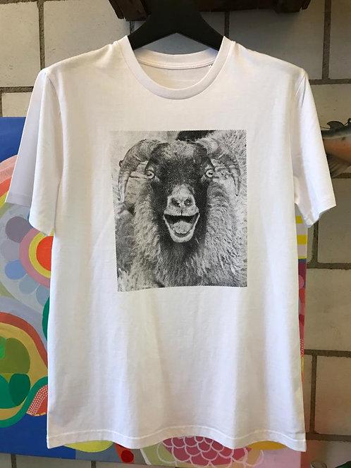 T-Shirt Unisex, weiss