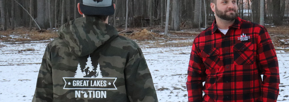 Camo Waterproof Jacket - Red/Black Flannel