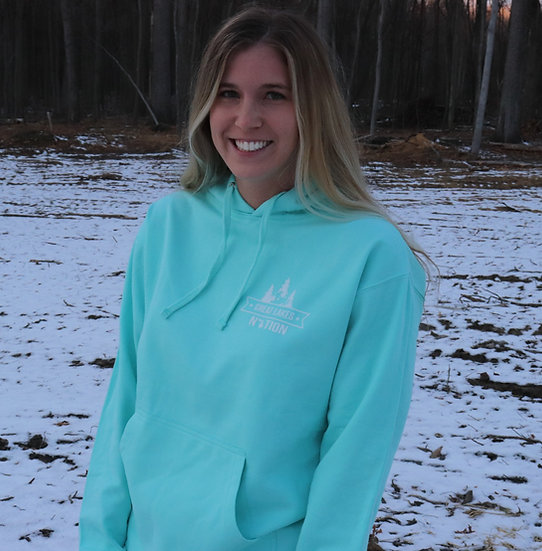 Mint Midweight Hoodie