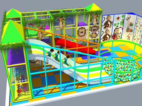 New Indoor Playground Installation In Lebanon – Nabatieh