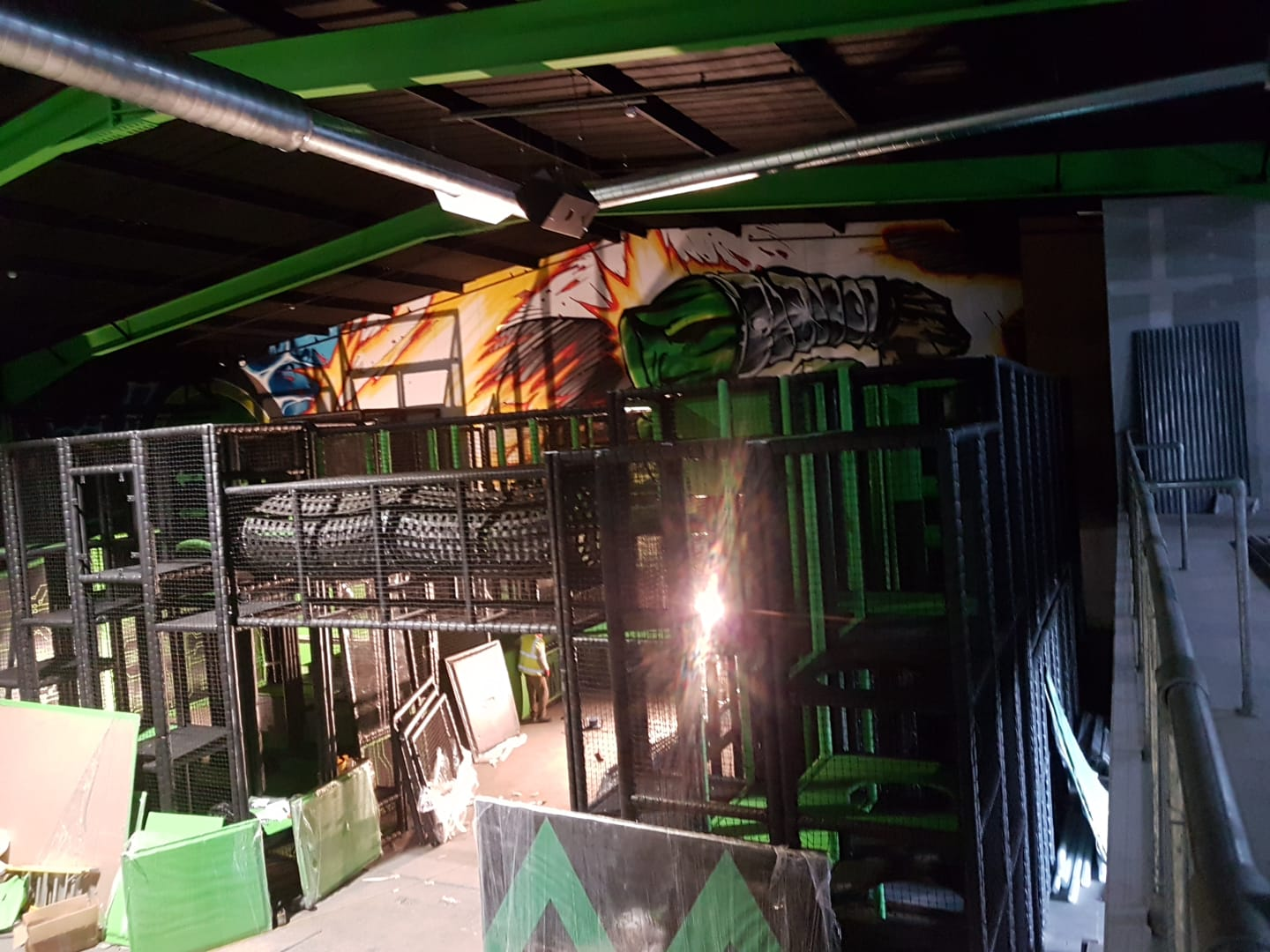 Assault Course Soft Play Installation in UK Liverpol
