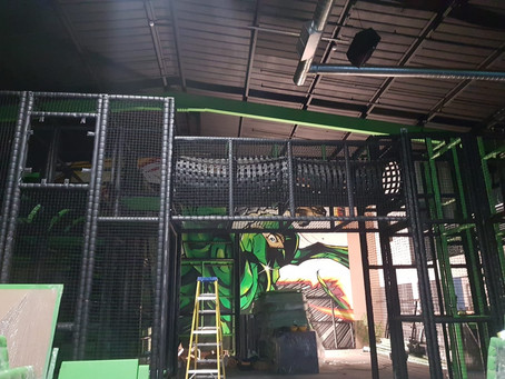 Assault Course Soft Play Installation In The UK-Liverpool