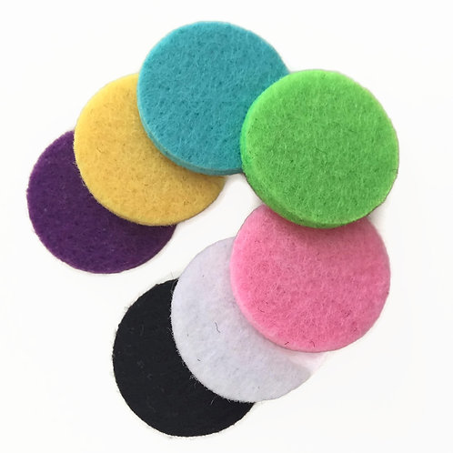 Diffuser Felt Pads, Pack of 7 Assorted Colors