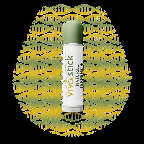VivaStick Natural Terpene+ 25mg Lip Revival SPF 15