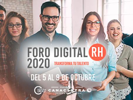 TODO LISTO PARA EL FORO DIGITAL RH 2020