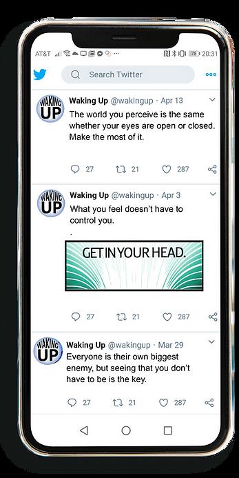 Wakingup-Tweets