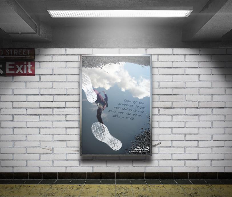 Allbirds Subway Ad