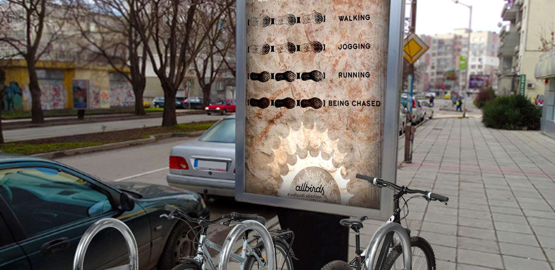 Allbirds BikeRack Ad