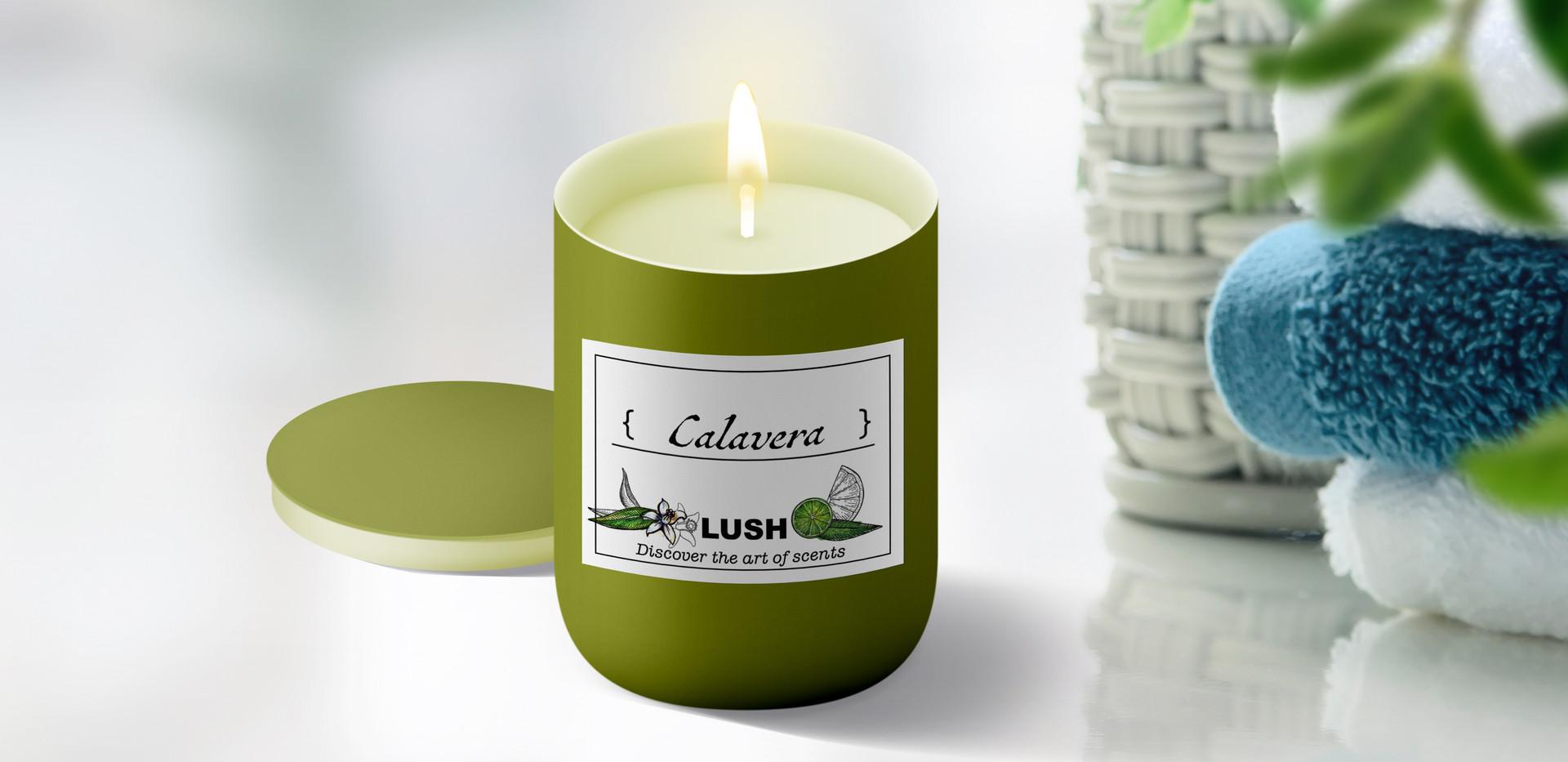 Lush Candles - Calavera