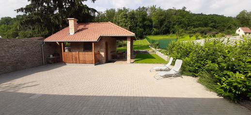 Zahradní domek a zahrada
