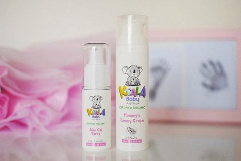 Tummy cream& Aloe Gel Spray