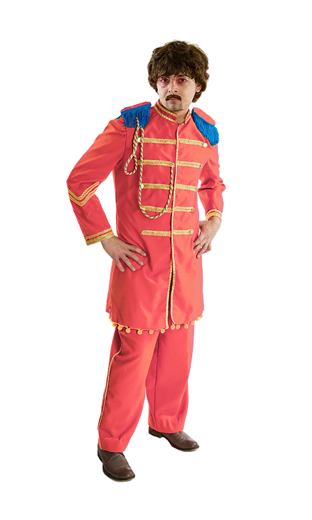 Pink Beatles Lonely Hearts Club costume