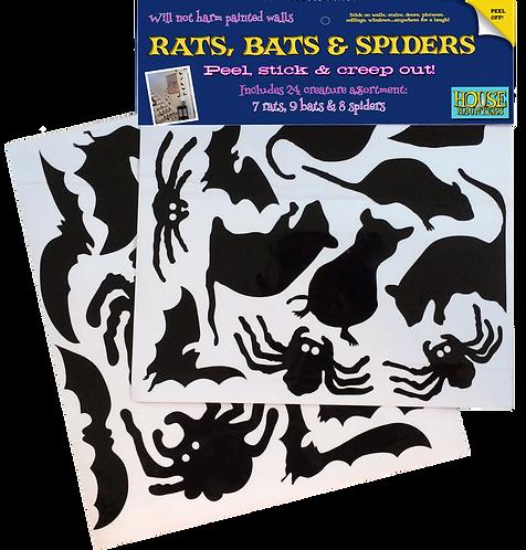 Rats bats & spiders!