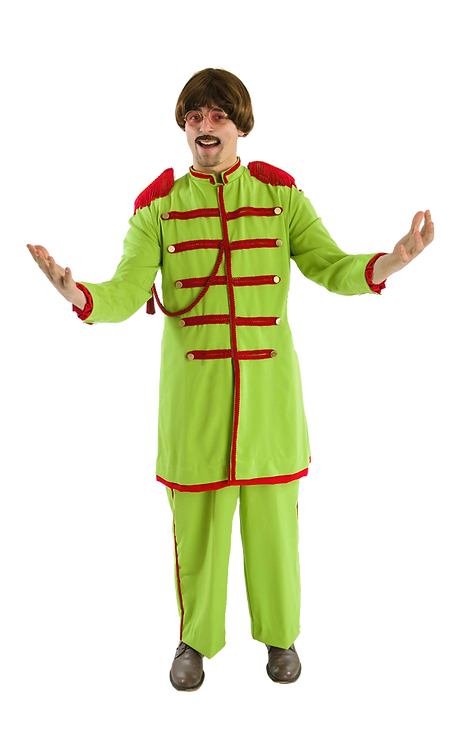 Green Beatles Lonely Hearts Club Band costume