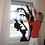 Thumbnail: Window Cartoon Silhouette—Dr. Heckle & Mrs. Hide (single)