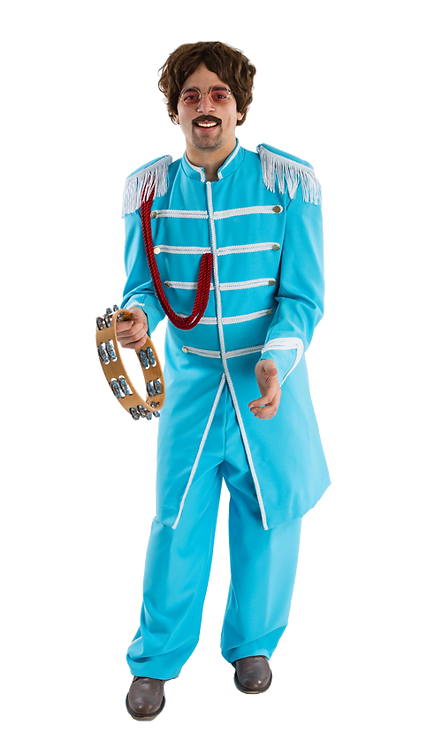 Blue Beatles Lonely Hearts Club Band costume