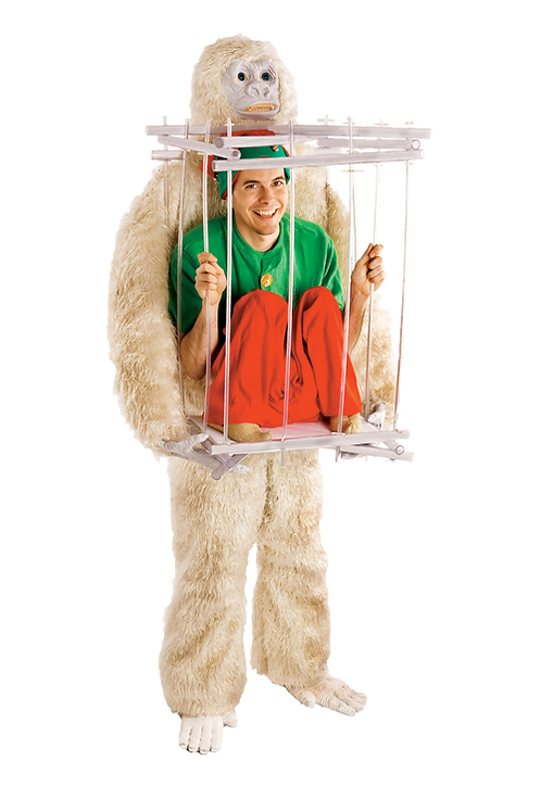 Abominable Snowman & Ice Cage Kit
