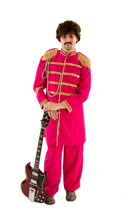 Red Beatles Lonely Hearts Club Band costume