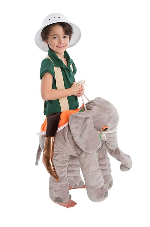 Elephant Make believe Rider