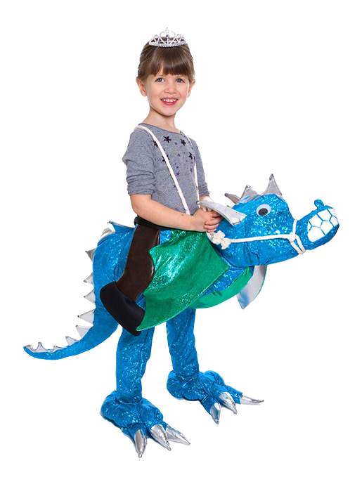 Blue Dragon Kid's Rider