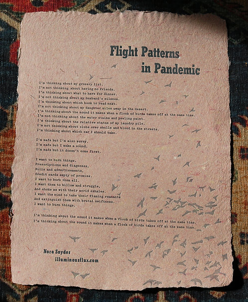 Flight Patterns in Pandemic
