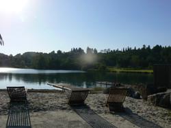 Lac de Montréjeau & bronzette au bar