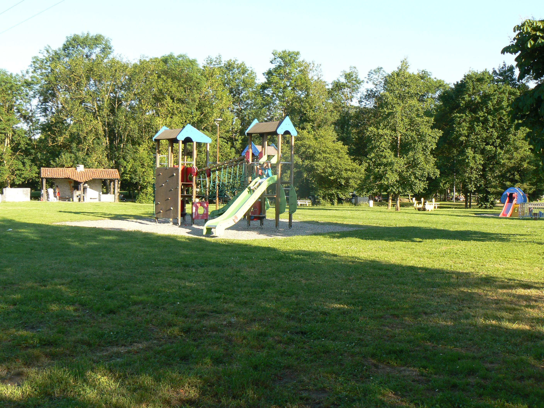 Lac de Montréjeau & jeux enfants