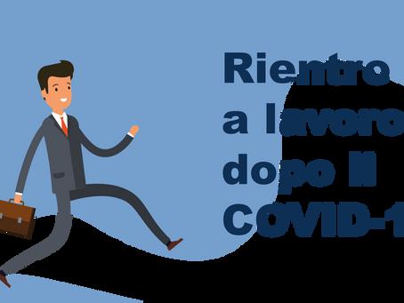 ASSENZE PER COVID-19: COME GESTIRE IL RIENTRO AL LAVORO