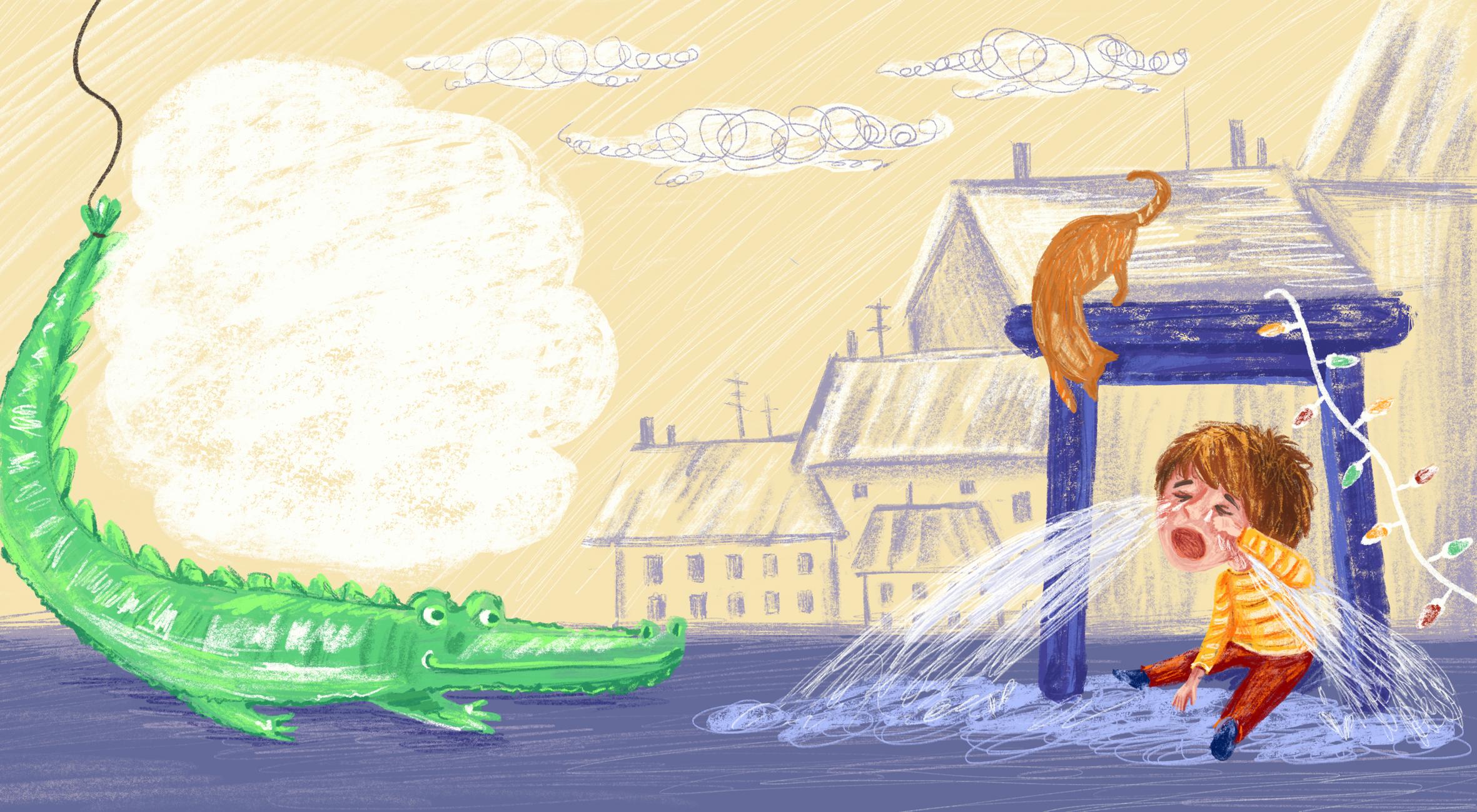 крокодил цвет 2
