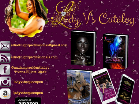 Meet the Author ... Lady V