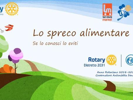 Rotary Cuorgnè e Canavese e liceo Aldo Moro insieme contro lo spreco alimentare