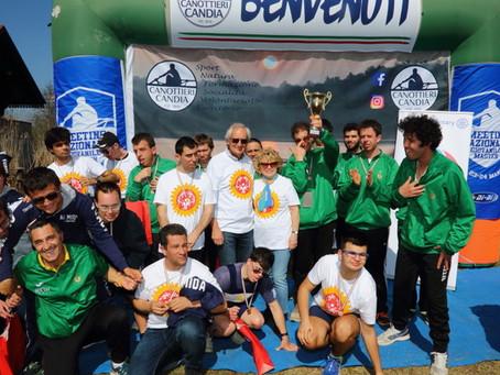 Coppa Rotary di indoor rowing presso il lago di Candia