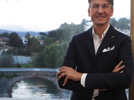 Fabrizio Gea, presidente di Confindustria Canavese, rotariano del Club Cuorgnè e Canavese,  intervie