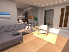 3D Sala de TV
