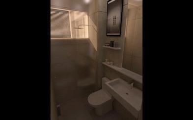 Antes X Depois - Banheiro 01