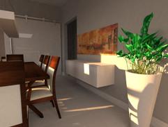 3D Sala de Jantar